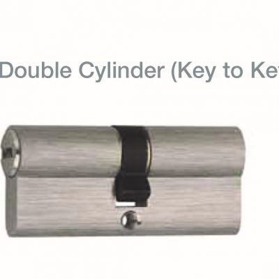 JUAL DOUBLE CYLINDER BRS (KEY TO KEY)