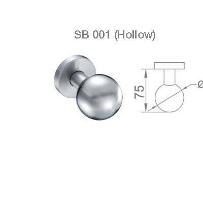 JUAL FIX KNOB BRS SB 001 (HOLLOW)