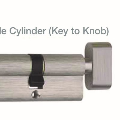 JUAL SINGLE CYLINDER BRS (KEY TO KNOB)
