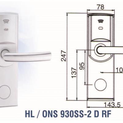 JUAL Hotel Lock Onassis HL / ONS 930SS 2 D RF