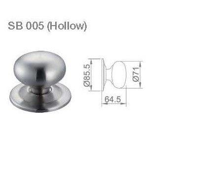 JUAL FIX KNOB BRS SB 005 (HOLLOW)
